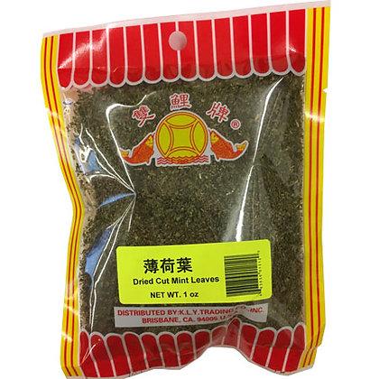 Dried Cut Mint Leaves