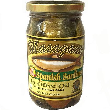 Masagana Spanish Sardines in Olive Oil