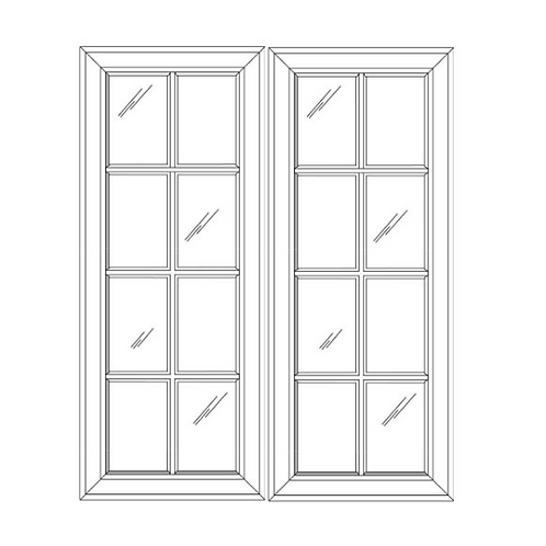 SE GD3642 Glass Door