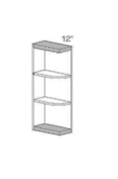 "SW WES630 30""H Wall End Shelf"