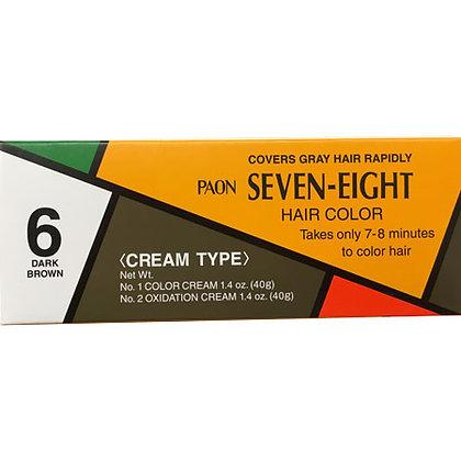 Seven Eight Hair Color