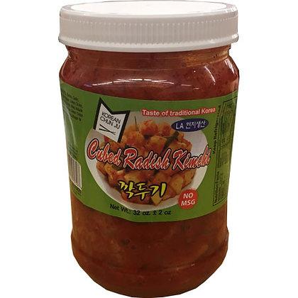 Cubed Radish Kimchee