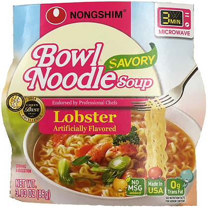 Lobster Bowl Noodle Soup