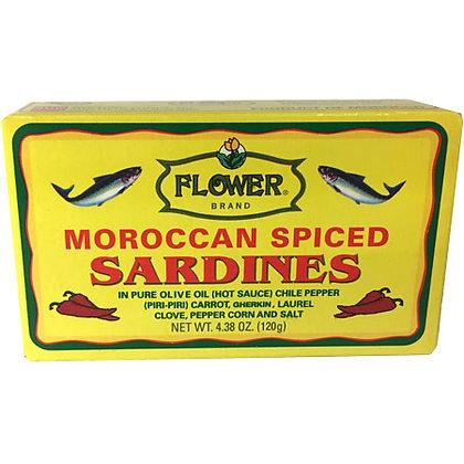 Moroccan Spiced Sardines