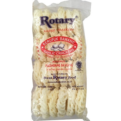 Rotary Garlic Crackers
