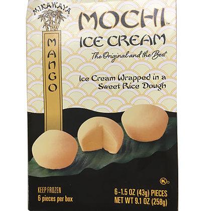 Mango Mochi Ice Cream