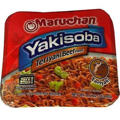 Teriyaki Beef Yakisoba
