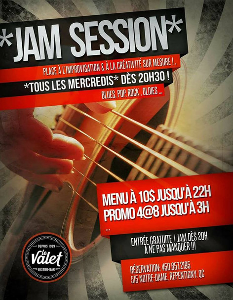 Jam Session le Mercredi