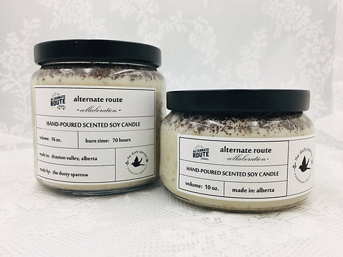 The Dusty Sparrow Coffee Candle