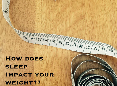 Does Sleep Impact Your Weight?