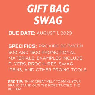 Gift Bag Swag