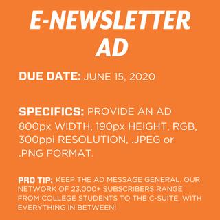 e-Newsletter Ad