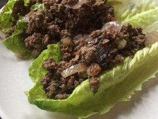 Low-Carb Beef Lettuce Wraps