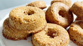 Low-Carb Sugar-Free Holiday Cinnamon Donuts
