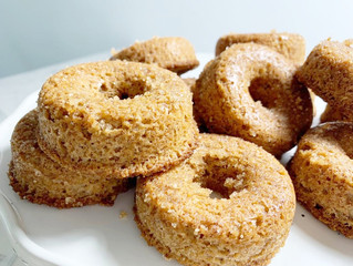 Low-Carb Sugar-Free Holiday Cinnamon Donuts