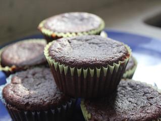 Low-Carb Sugar-Free Dairy-Free Chocolate Muffins