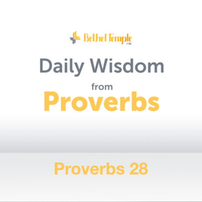 Proverbs 28 | Daily Wisdom from Proverbs