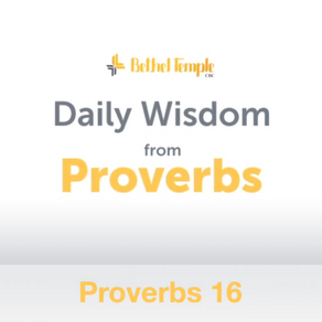 Proverbs 16 | Daily Wisdom from Proverbs