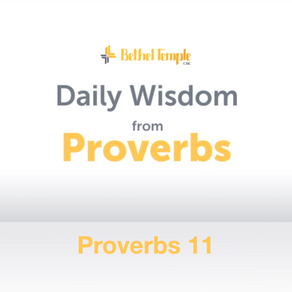 Proverbs 11 | Daily Wisdom from Proverbs