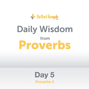 Proverbs 5 | Daily Wisdom from Proverbs