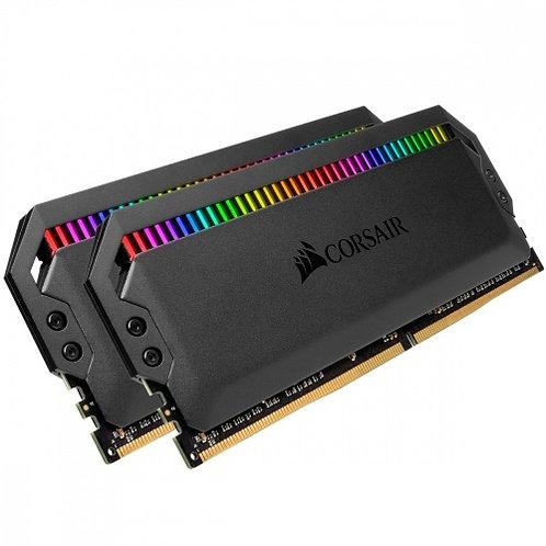 CORSAIR MEMORIA DOMINATOR RGB 16GB (2X8GB) DDR4 3200MHZ C16