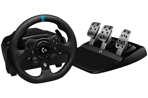 LOGITECH G923 VOLANTE Y PEDALES DE CARRERAS DRIVING FORCE XBOX ONE & PC