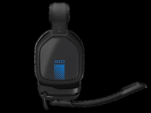 ASTRO DIADEMA A10 NEGRO-AZUL PS4, PC-MAC, XBOX