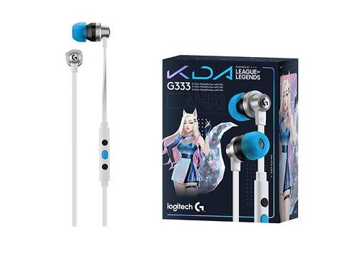 LOGITECH AUDIFONOS G333 K/DA
