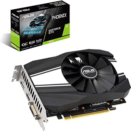 ASUS TARJETA DE VIDEO PHOENIX GTX1660 OC 6GB DDR5