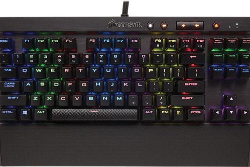 CORSAIR TECLADO K65 MECANICO RGB RAPIDFIRE — CHERRY® MX Speed RGB (SP)