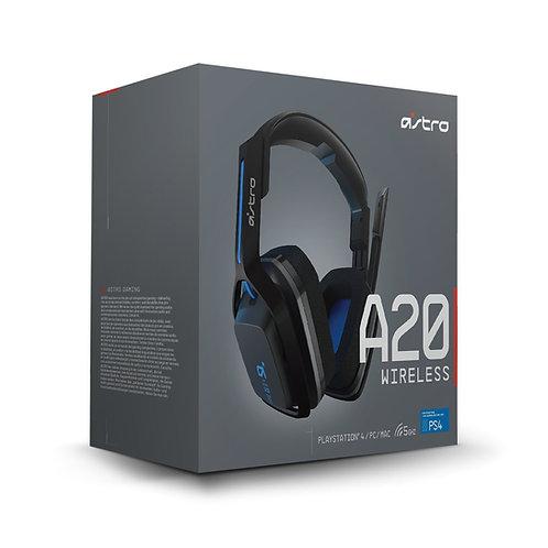 ASTRO DIADEMA A20 NEGRO-AZUL PC-MAC, PLAY