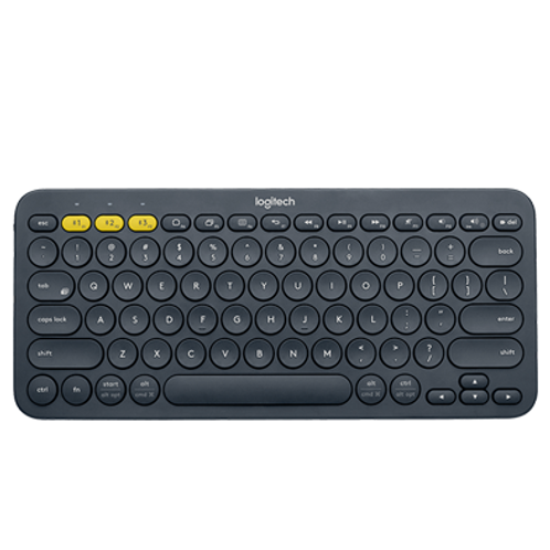 LOGITECH K380 TECLADO BLUETOOTH MULTIDISPOSITIVO COLOR GRIS
