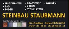 Steinbau Staubmann - Logo