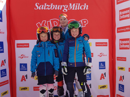 SalzburgMilch Kids Cup ÖSV Landeskinderrennen Steiermark CR Rittisberg | 04.02.2018