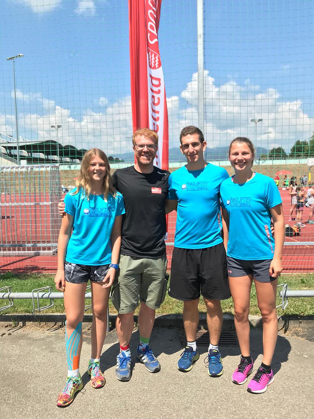 ESV Trainerteam mit Sportreferent Harald Bergmann