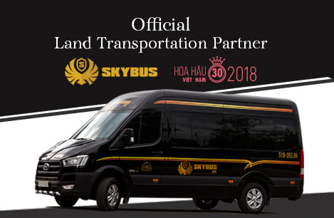Skybus đồng hành Hoa Hậu Việt Nam 2018