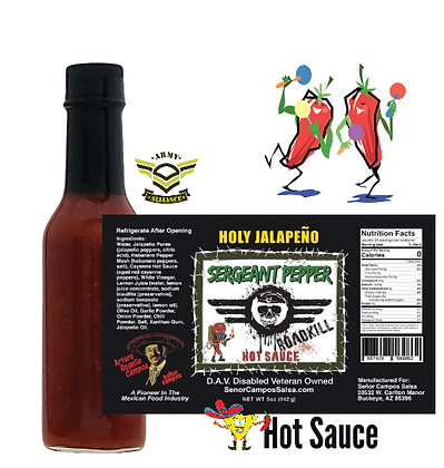 Holy Jalapeno by SERGEANT PEPPER