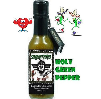Holy Green Pepper by SERGEANT PEPPER
