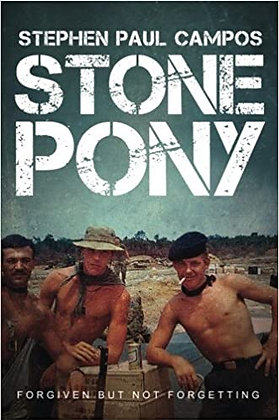 STONE PONY - Author signed! The TRUE story of Stephen Paul Campos