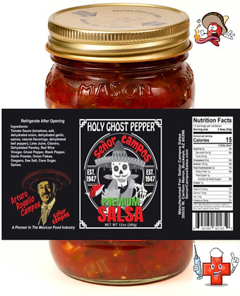 Holy Ghost Pepper Fire-Hot-! 12 oz.