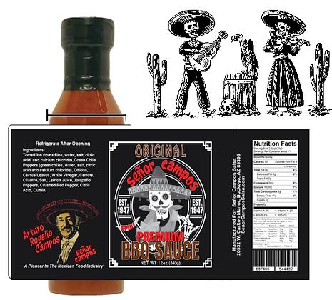 ORIGINAL BBQ Sauce - 14 oz