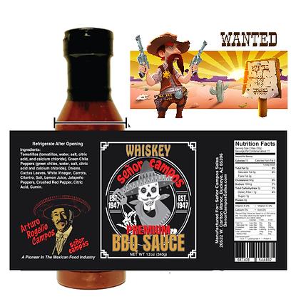 WHISKY BBQ Sauce -Sheriff Killjoy 14 oz.