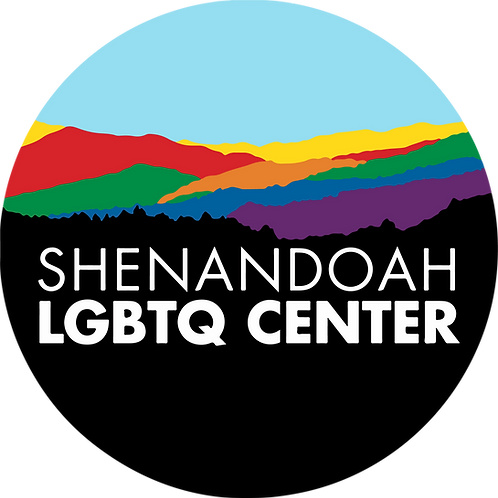 Shenandoah LGBTQ Center logo sticker