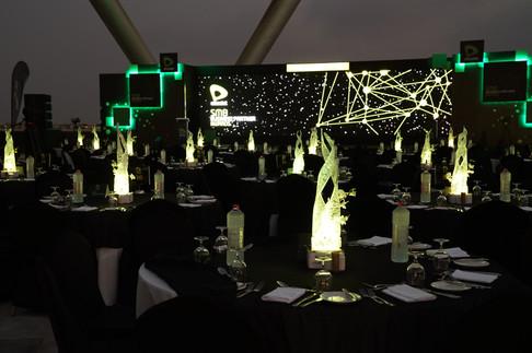 Etisalat Awards Table Art