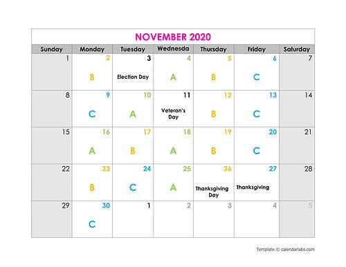 24Q102_Revised2020CalendarGroupDays_Nov.
