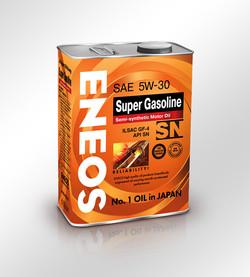 Банка автомобильного масла ENEOS