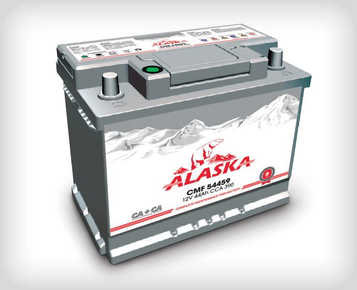 Аккумулятор Аляска