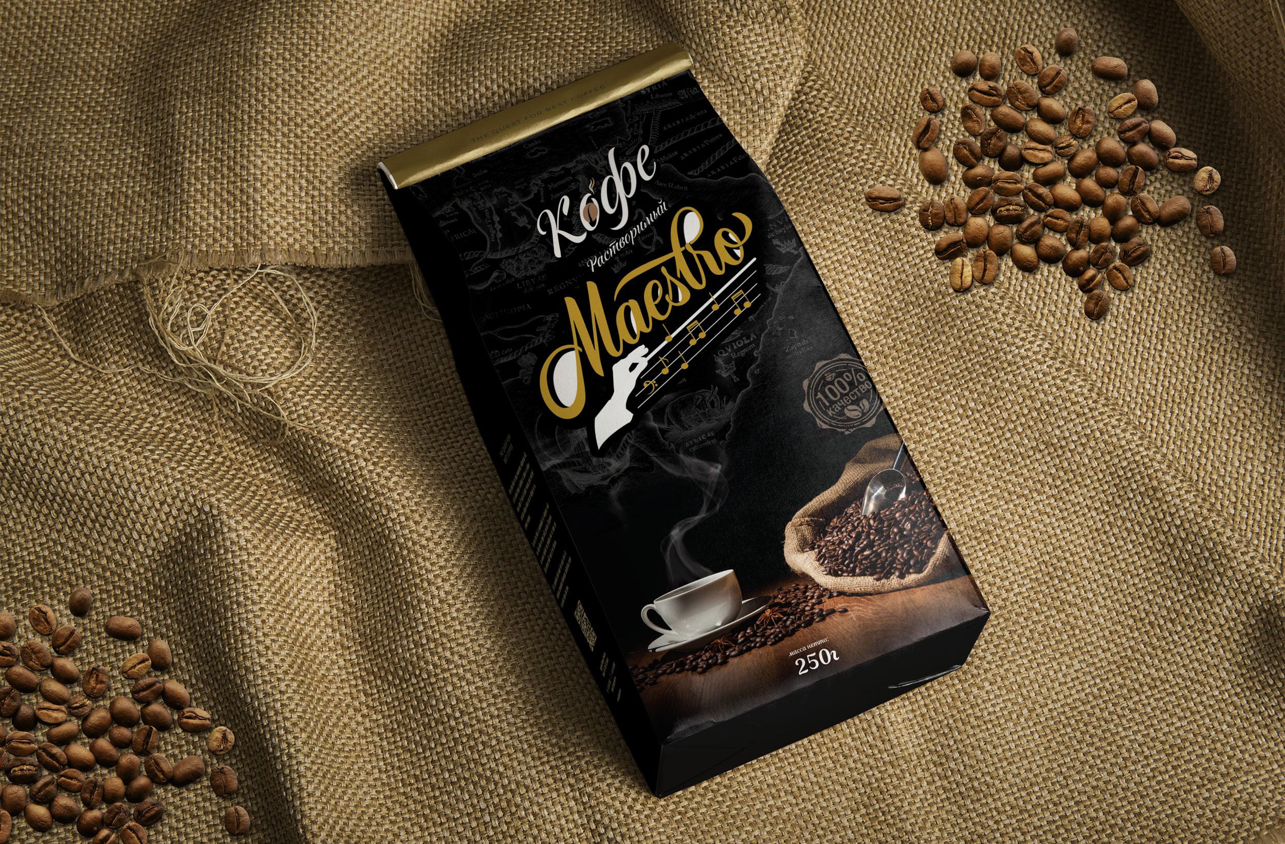 """Кофе """"Maestro"""""""