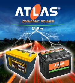Банер на аккумуляторы ATLAS