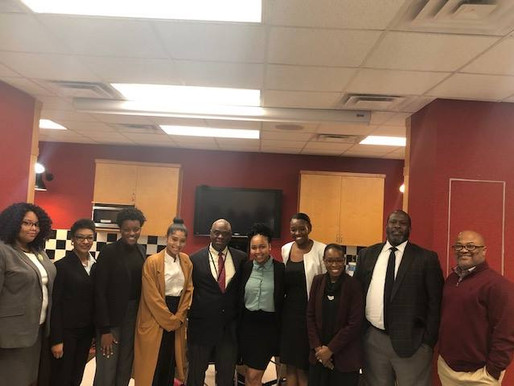Law Firm Hosts Inaugural Black History Event for Minority Pre-Law College Students